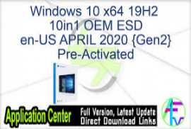 Windows 10 X64 1909 10in1 OEM ESD en-US APRIL 2020 {Gen2}