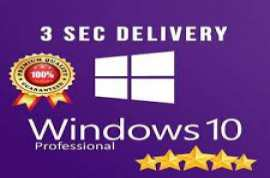 Windows 10 Pro X32 & X64  product key and windows usb instal